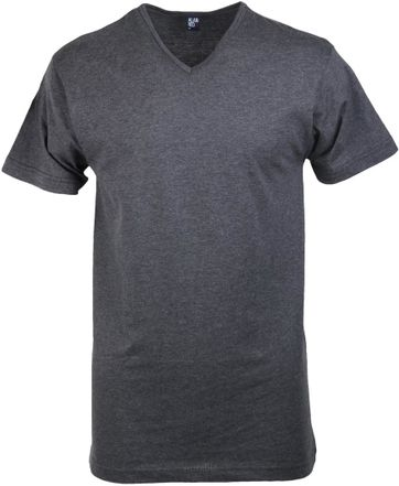 Alan Red Vermont T-shirt V-Neck Dark Grey 1-Pack
