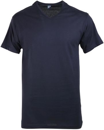 Alan Red Vermont T-shirt V-Neck Navy 1-Pack