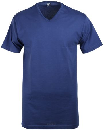 Alan Red Vermont T-shirt V-Neck Ultramarine 1-Pack