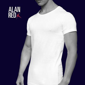 Alan Red Weiter Rundhals-Ausschnitt James (2er-Pack)