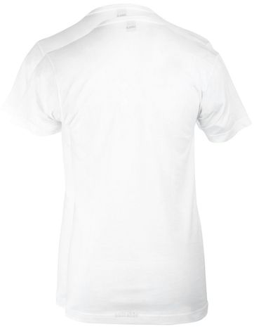 Alan Red West-Virginia V-Neck White 2-Pack