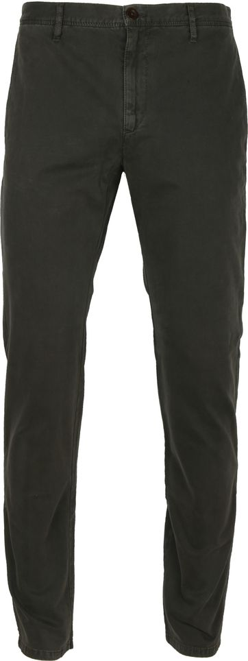 Alberto Rob Dynamic Chino Dark Green