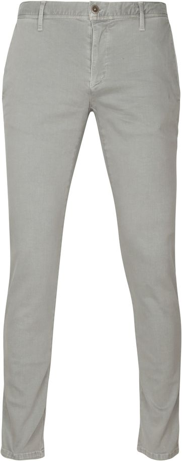 Alberto Rob Dynamic Chino Light Grey