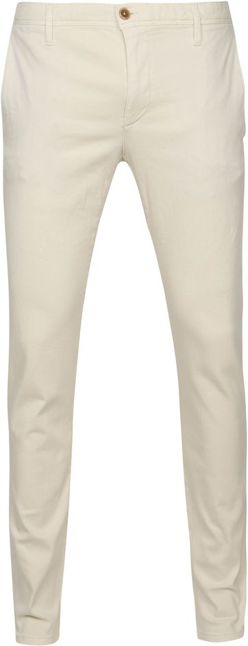 Alberto Rob Dynamic Chino Off-White