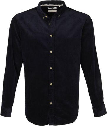 Anerkjendt Akkonrad Overhemd Donkerblauw