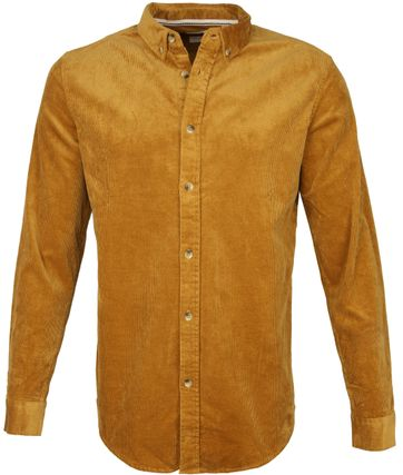 Anerkjendt Akkonrad Overhemd Okergeel