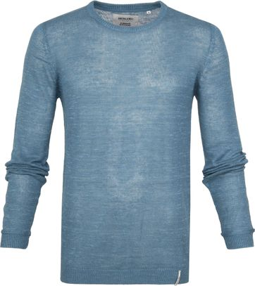 Anerkjendt Andres Knit Sweater Blau