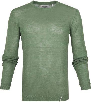 Anerkjendt Andres Knit Sweater Grün