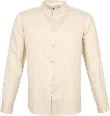 Anerkjendt Overhemd Aklukas Beige