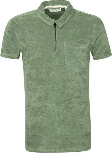Anerkjendt Polo Shirt Half Zip Akbob Groen