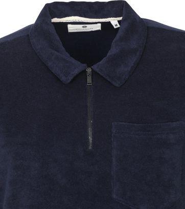 Anerkjendt Polo Shirt Half Zip Akbob Navy