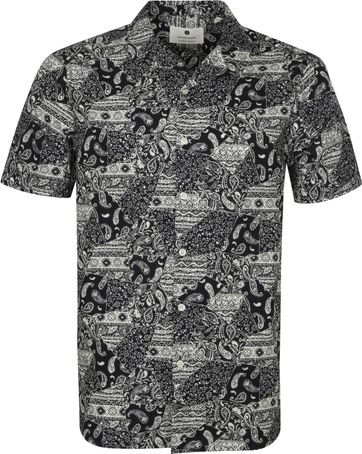 Anerkjendt SS Shirt Akleo Black
