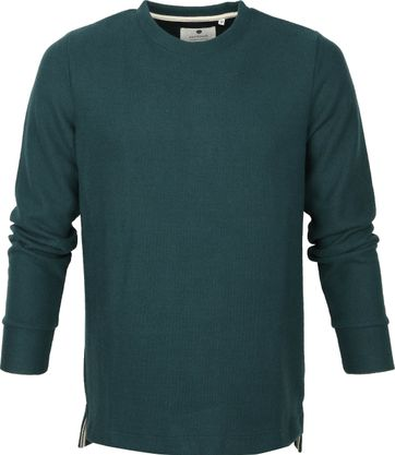 Anerkjendt Sweater Dark Green Stripes