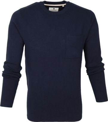 Anerkjendt Sweater Dunkelblau
