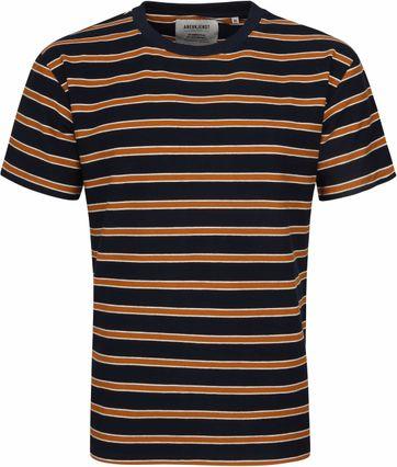 Anerkjendt T-shirt Akkikki Strepen