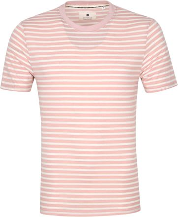 Anerkjendt T-shirt Akrod Streifen Rosa