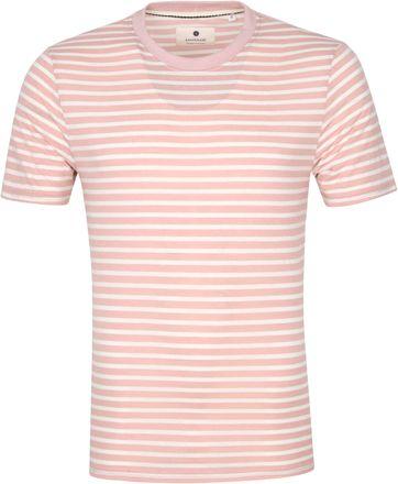 Anerkjendt T-shirt Akrod Strepen Roze