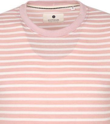 Anerkjendt T Shirt Akrod Stripes Pink