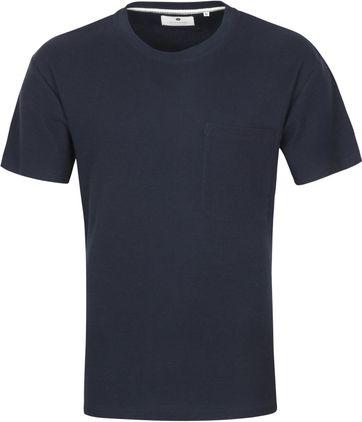 Anerkjendt T-shirt Akrune Donkerblauw