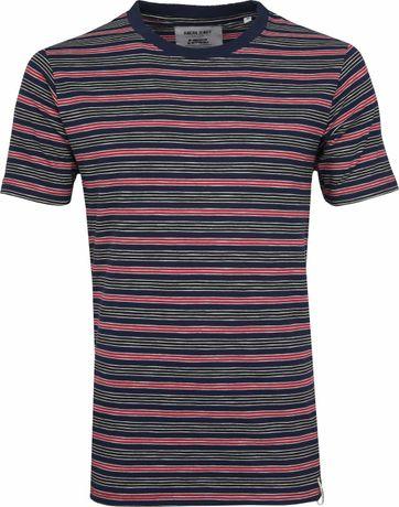 Anerkjendt T-shirt Earth Streifen