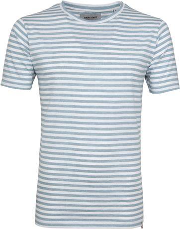 5c0771350118bc Anerkjendt T-shirt Ralf Streifen Hellblau €24.90SMLXL