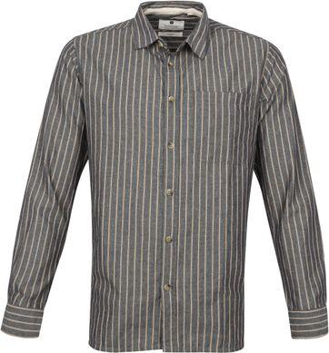 Anerkjendt Overhemd Aklenny Donkerblauw