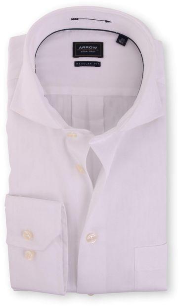 Arrow Hemd Regular Fit Weiß