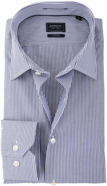 Arrow Overhemd Blauw Streep