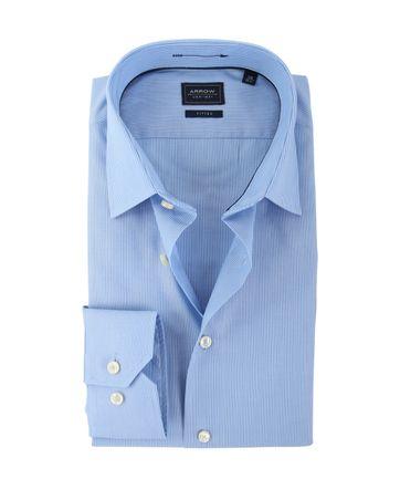 Arrow Overhemd Blauwe Streep