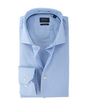 Arrow Overhemd Blauwe Strepen