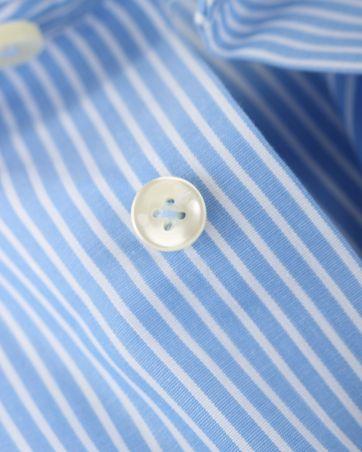 Detail Arrow Overhemd Blauwe Strepen