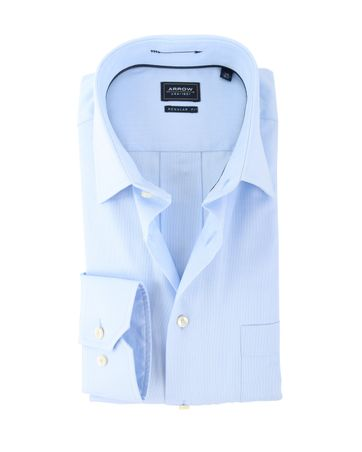 Arrow Overhemd Kent Blauw