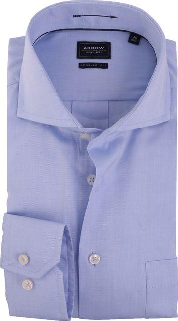 Arrow Overhemd Regular Fit Blauw