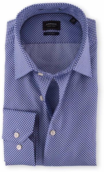 Arrow Shirt Blue Dots
