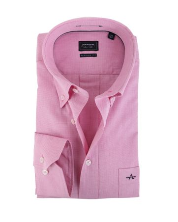 Arrow Shirt Button Down Fuchsia