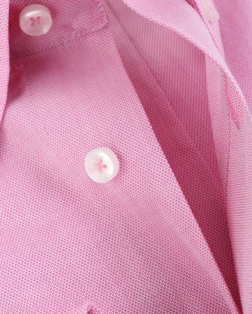 Detail Arrow Shirt Button Down Fuchsia