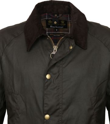 Barbour Ashby Wachsjacke Olive