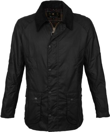 Barbour Ashby Wax Jacket Navy