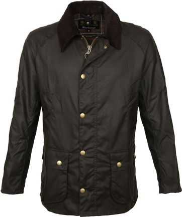 Barbour Ashby Wax Jas Olive