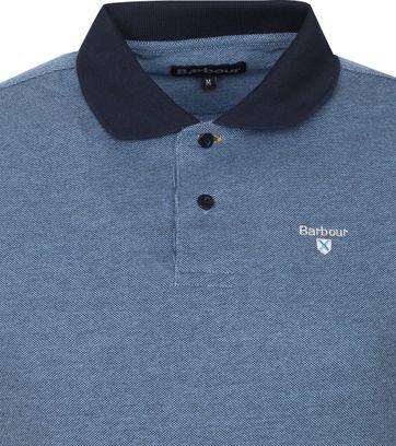 Barbour Basic Pique Poloshirt Navy