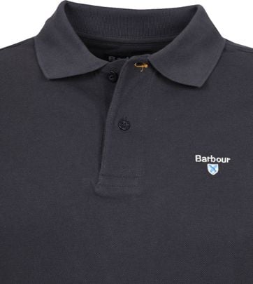 Barbour Basic Polo Antraciet