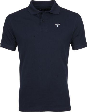 Barbour Basic Polo Donkerblauw