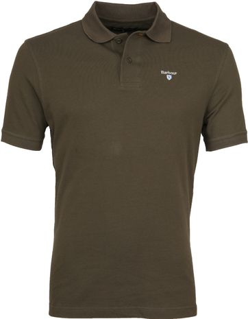 Barbour Basic Polo Legergroen