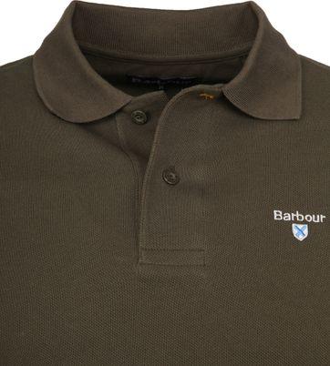 Barbour Basic Poloshirt Armee