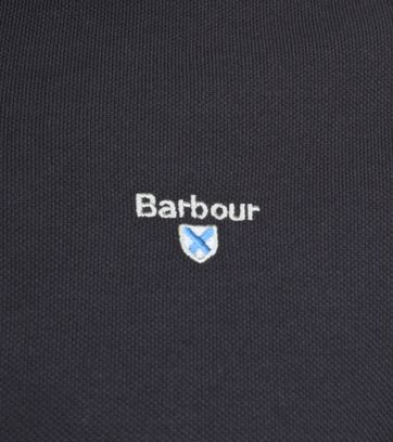 Barbour Basic Poloshirt Dark Grey