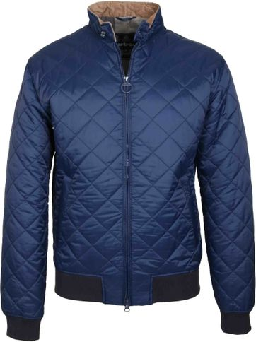 Barbour Bates Jack Navy