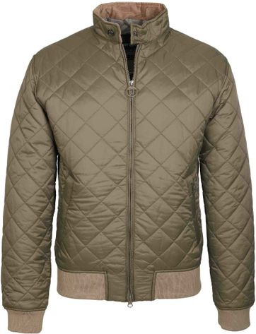 Barbour Bates Jacket Green