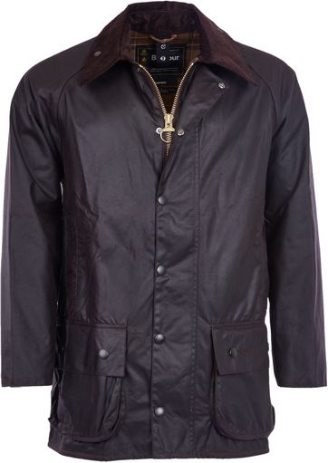 Barbour Beaufort Wachsjacke Braun