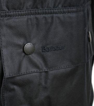 Barbour Beaufort Wachsjacke Dunkelblau