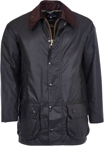 Barbour Beaufort Wachsjacke Grün